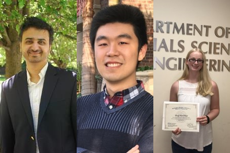 2017 Outstanding Materials Science Ph.D., M.S., and B.S. Students