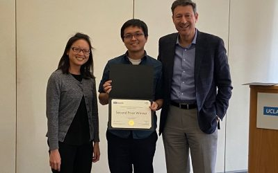 MSE graduate student wins second place prize at pitch competition held by Easton Technology Management Center