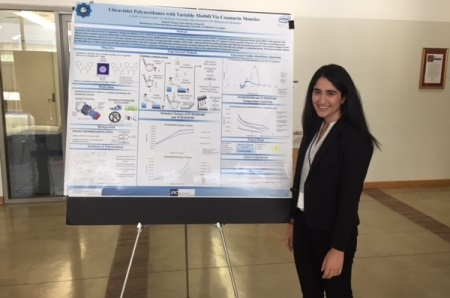 Daniela Marques was awarded 1st Prize in RISE-UP Poster Competition for her research on Ultraviolet Responsive Polyurethanes