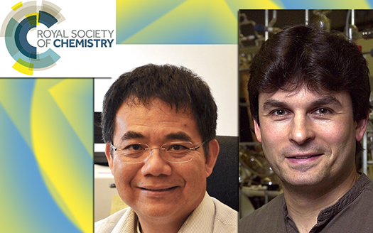 Professors Yang, Kaner named to Royal Society of Chemistry